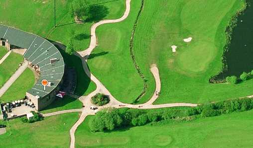 Aerial view from Playgolf Bournemouth