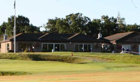 A view of the clubhouse at Wareham Golf Club