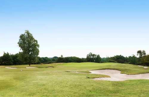 A view of the 2nd hole at Lakeland Course from Dorset Golf & Country Club
