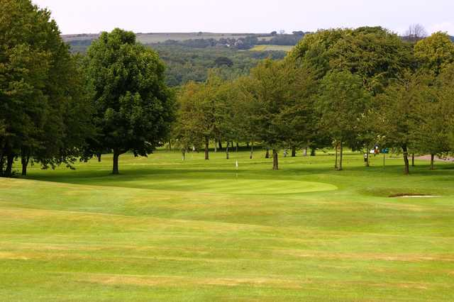 A view of a green at Beamish Park Golf Club