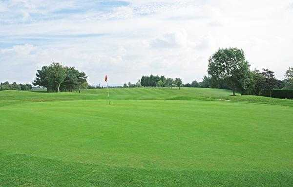A view of the 18th green at Billingham Golf Club