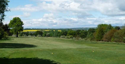 A view from a tee at Bishop Auckland Golf Club