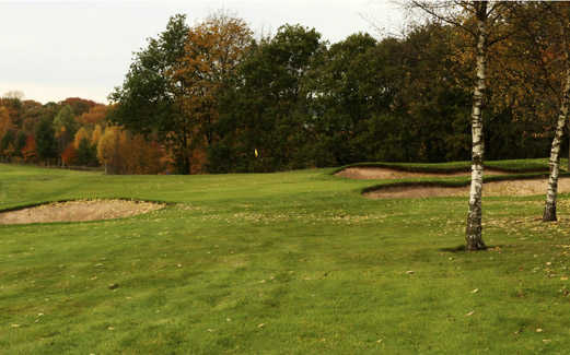 A view of the 7th green at Brancepeth Castle Golf Club