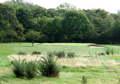 A view of green #16 at Chester-le-Street Golf Club