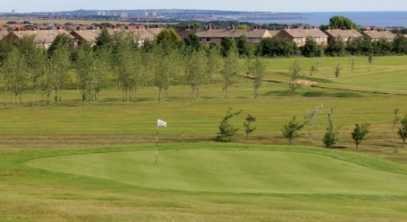 A view of the 10th hole at Seaham Golf Club