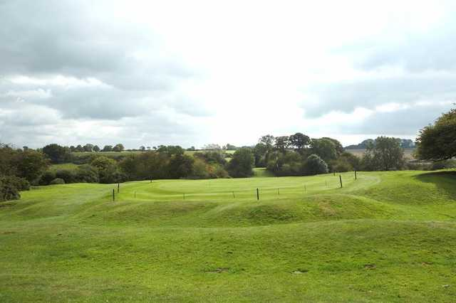A view of the 12th green at Beverley & East Riding Golf Club