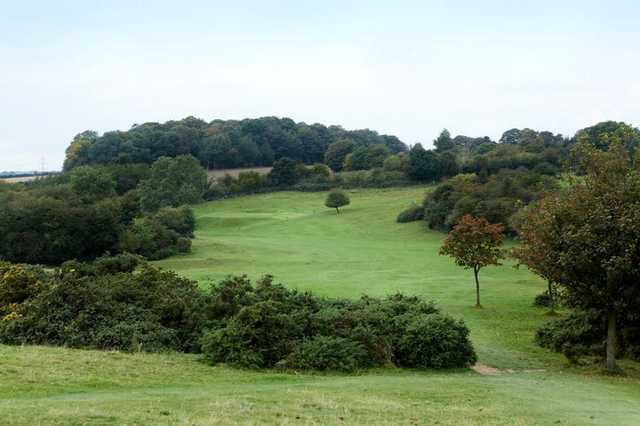 A view from tee at Beverley & East Riding Golf Club