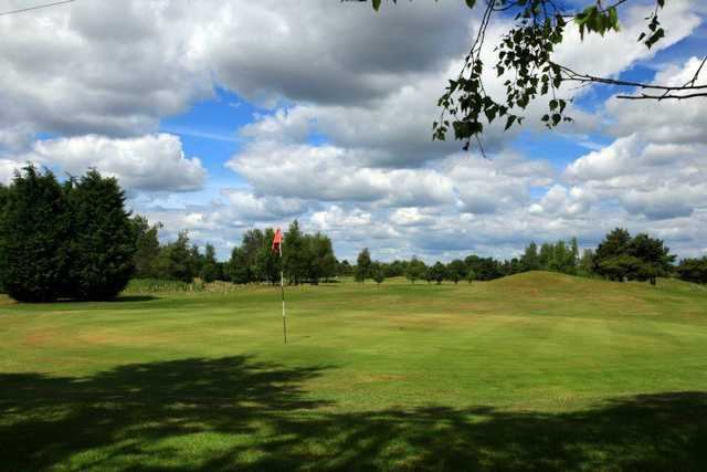 A view of green at Ganstead Park Golf Club