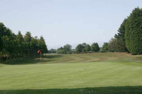 A view of hole #6 at Hornsea Golf Club