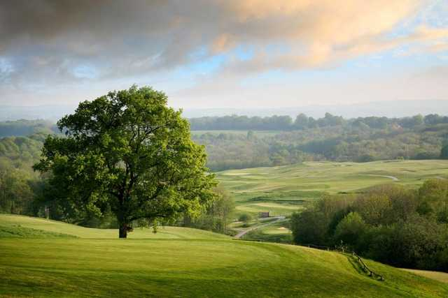 Stunning view of the Ian Woosnam course at Dale Hill