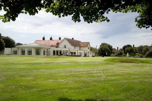 The clubhouse at Seaford Golf Club