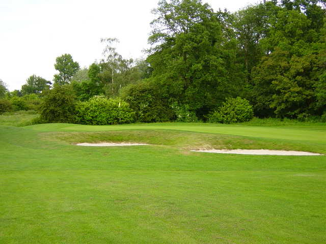 A view of the 2nd green at Canons Brook Golf Club