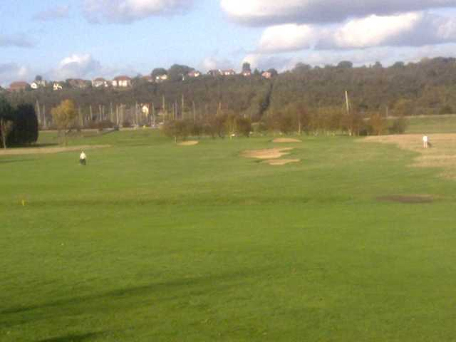 Well-placed sandtraps at Castle Point can make or break a good score