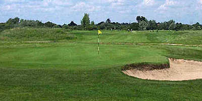 A view of the 12th hole at Clacton-on-Sea Golf Club