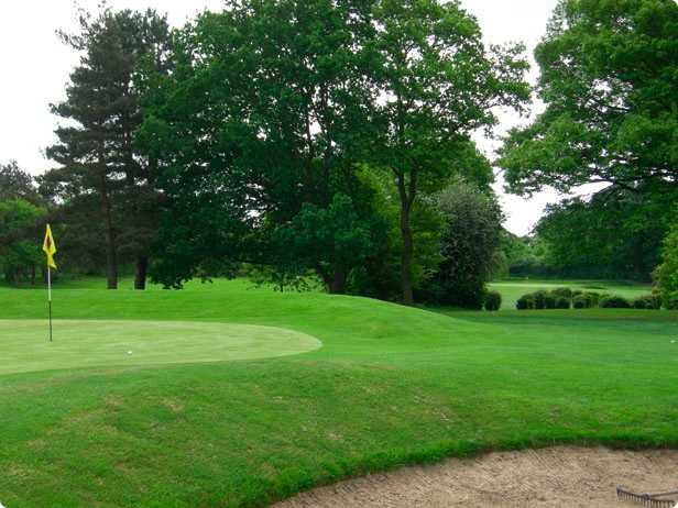 A view of hole #3 with the 4th in background at Colchester Golf Club