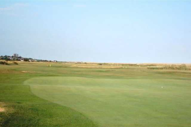 A view of the 6th hole on the harvers at Frinton Golf Course