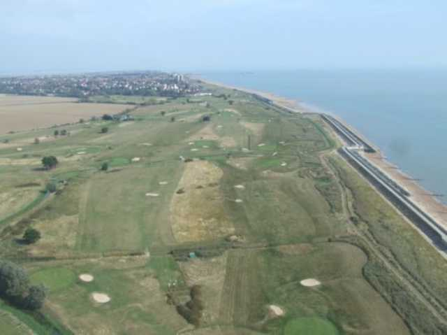 An aerial view of the Kirby at Frinton Golf Course