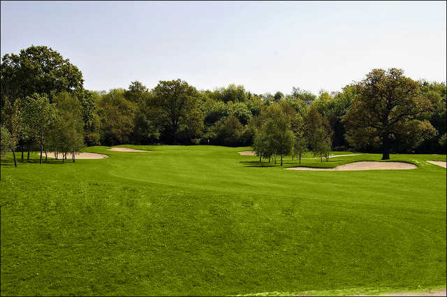 A view of a fairway at Playgolf Colchester.