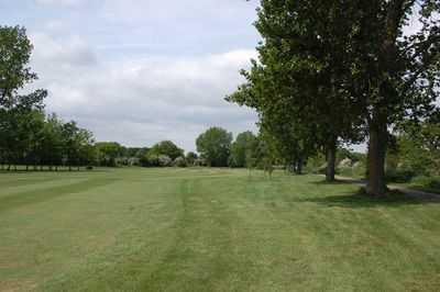 A view of a fairway at Maldon Golf Club