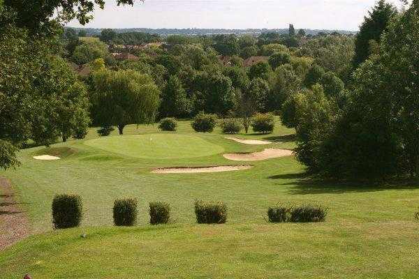 A view from the 3rd tee at Theydon Bois Golf Club