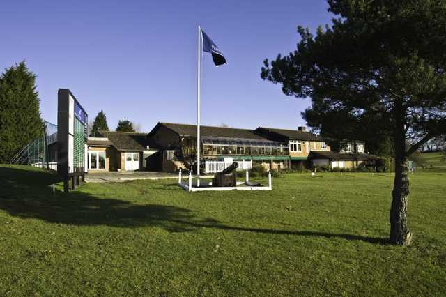 A view of the clubhouse at Warley Park Golf Club