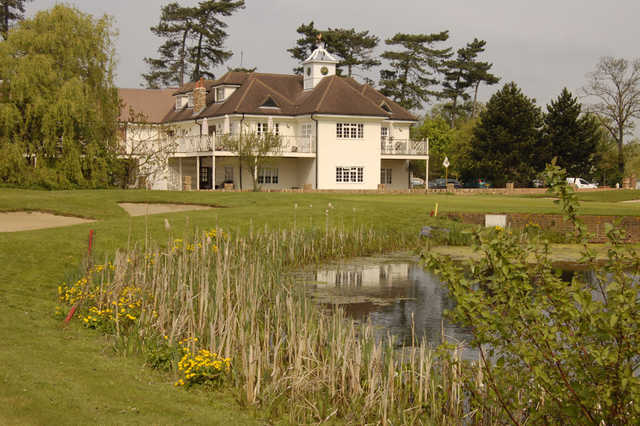 View of the clubhouse at Woolston Manor Golf & Country Club