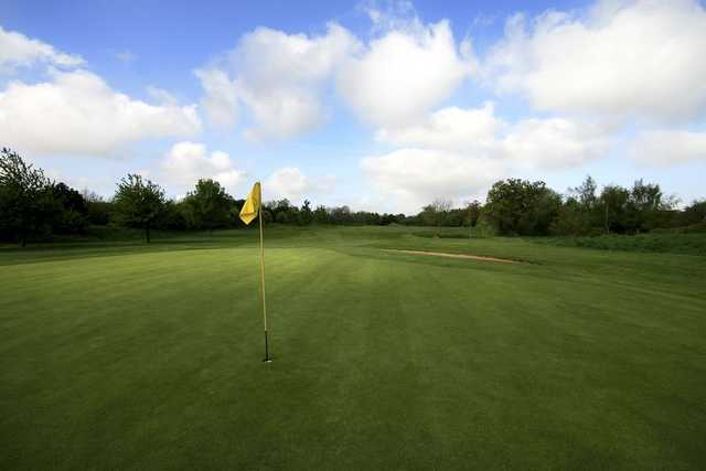 A view of the 16th hole at Filton Golf Club