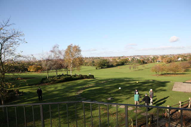 A view from the clubhouse terrace at Brent Valley Golf Club