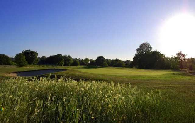 A view of green at Bromley Golf Centre