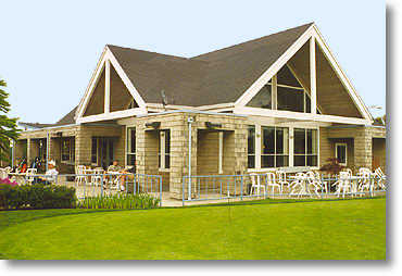 The clubhouse provides the latest in clubs and accessories. Food and beverages can also be acquired at The 19th Green Cafe and Grill.