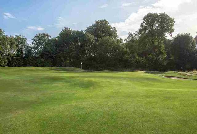 A view of green at Ealing Golf Club