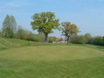 A view of green #1 at Horsenden Hill Golf Club