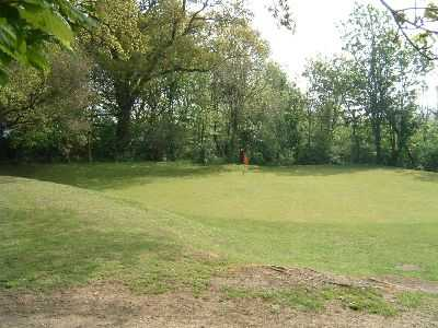 A view of the 6th hole at Horsenden Hill Golf Club