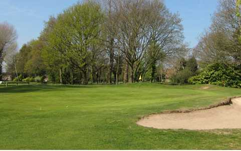 A view of the 14th green at Malden Golf Club