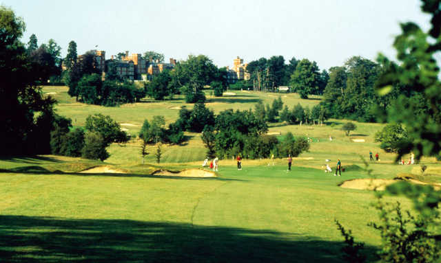 A view from fairway at Selsdon Park & Golf Club