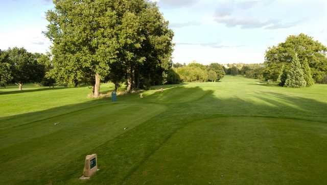 A view from tee #11 at Vardon Course from South Herts Golf Club