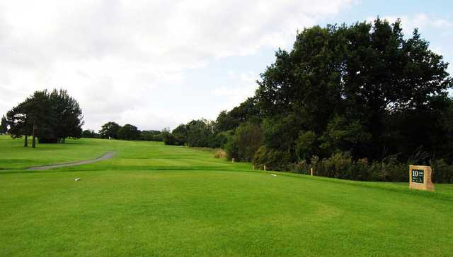 A view from the 10th tee at Vardon Course from South Herts Golf Club