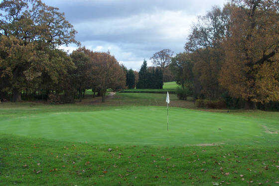 A view of the 4th hole at Stanmore Golf Club