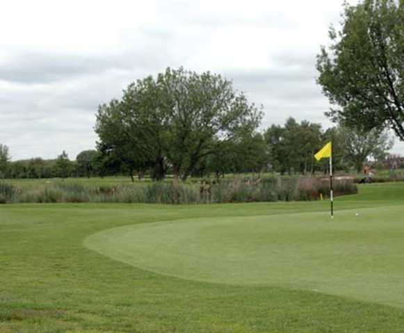 A view of a hole at Blackley Golf Club