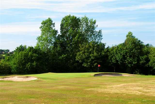A view of green #12 at Brookdale Golf Club