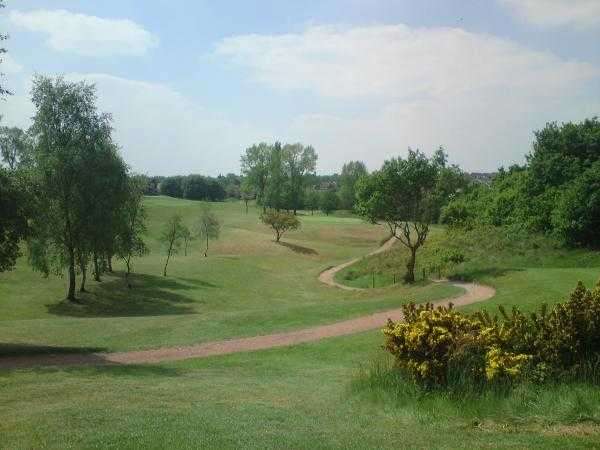 A view from Bury Golf Club