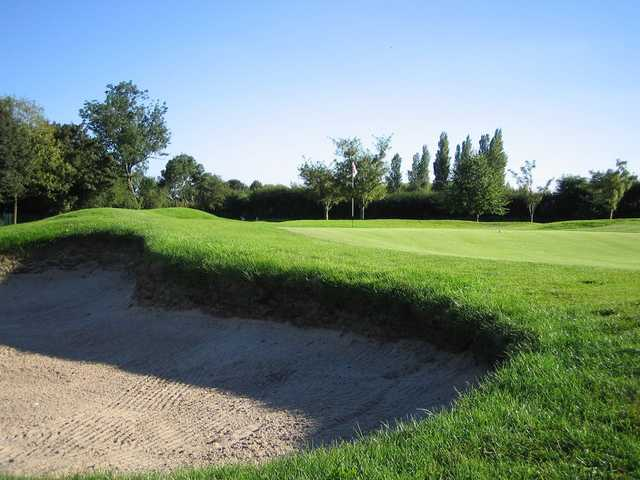 A view of the 12th hole at Chorlton-cum-Hardy Golf Club