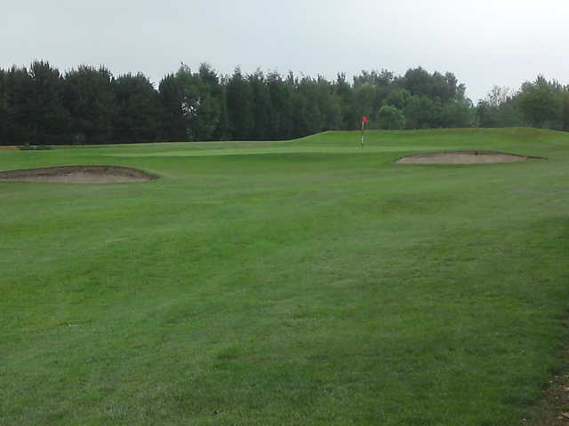 A view of the 4th hole at Dukinfield Golf Club