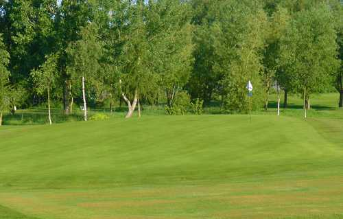 A view of the 1st hole at Houldsworth Golf Club