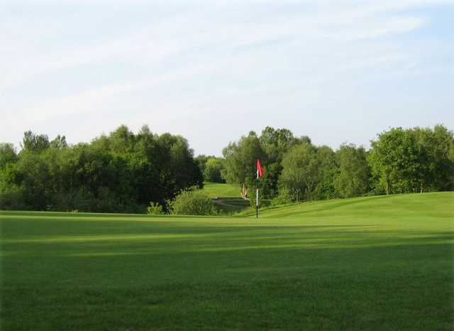 A view of hole #8 at North Manchester Golf Club