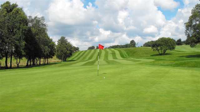 A view of green #2 at Walmersley Golf Club