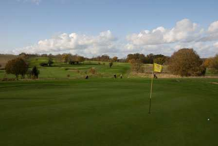 A view of hole #2 at Alresford Golf Club