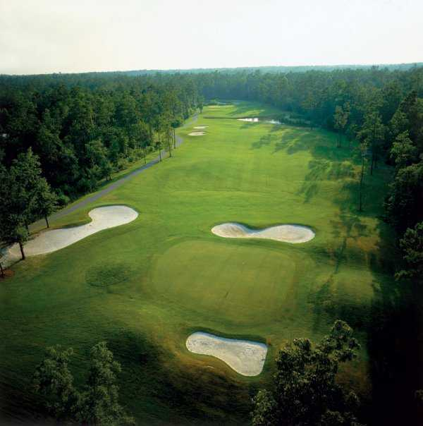 Aerial view of the Diamondback Golf Course