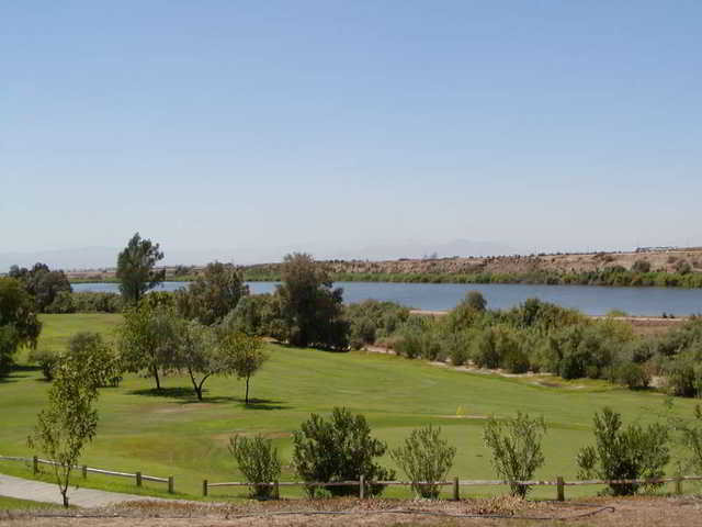 A view from Rio Bend Golf Course