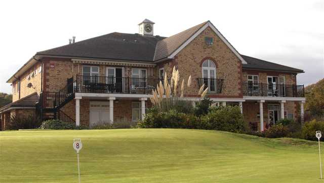 A view of the clubhouse at Lee-on-the-Solent Golf Club